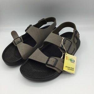 Birki's trinidad sandals stone size 7